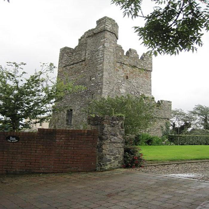 Image of a part derelict castle.
